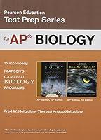 Preparing for the Biology AP* Exam (School Edition) (Pearson Education Test Prep)