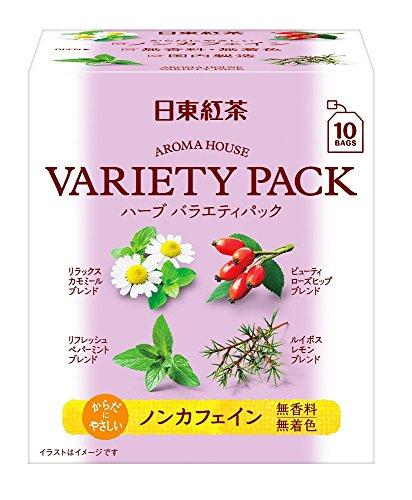 日東紅茶 アロマハウス バラエティーパック 10袋入り ×6個