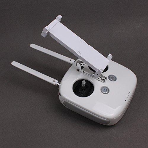 Threeking DJIファントム用のユニバーサル伸縮可能スタンドマウント&ホルダーブラケット 適用:5.5インチ及び以上のフォンと13cmから18.5cm幅のタブレット 適合機種:DJI Phantom4 Standard/4 Pro、Phantom 3 Professional/Advanced/Standard/3 SE、Inspire 1シリーズの送信機 (スタンドマウント&ホルダーブラケット)