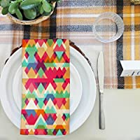artzfolio三角形テーブルナプキンサテン生地 16inch x 16inch; SINGLE PIECE AZKIT21504996NAP_TB_L_01-S1_SN