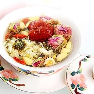 健康茶 パック 8種の素材をブレンド オリジナル八宝茶 25g×5P セット 美容茶 お茶 ジャスミン クコの実 冬瓜 龍眼 (Amazon出荷)
