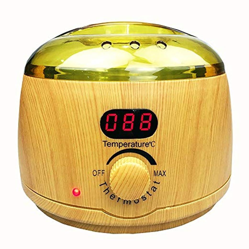 ホットワックスマシン、ワックスヒーティングポットプロフェッショナルポータブル脱毛電動ワックスウォーマー、家庭用およびサロン用高速加熱