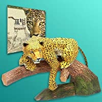 Papertoy - Solid model Leopard