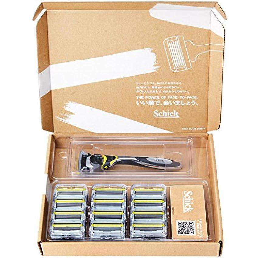 簡単に発揮する自分大容量 シック Schick 5枚刃 ハイドロ5カスタム リフレッシュ 替刃13コ付 バリューパック ホルダー本体付 男性カミソリ