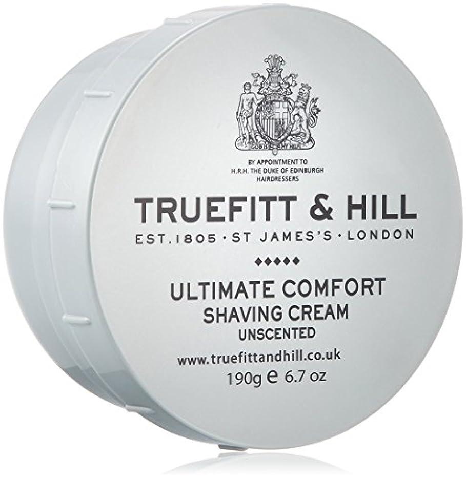 アンカーデイジー表現トゥルフィット&ヒル アルティメイトコンフォート シェービングクリーム無香料