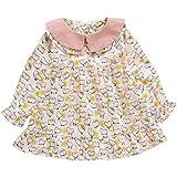 1 baby children's clothing female baby dress Korean version 3 girls models princess skirt long sleeves 4