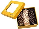 (フェンディ) FENDI タオル タオルセット モノグラム ズッカ柄 ハンドタオル 3点セット Made in JAPAN ブラック ホワイト ブラウン コットン100% fendi-mono ブランド 並行輸入品