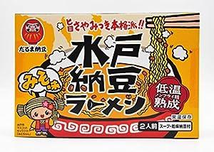 ご当地ラーメン 茨城水戸納豆ラーメン みそ味 2食入(252g)