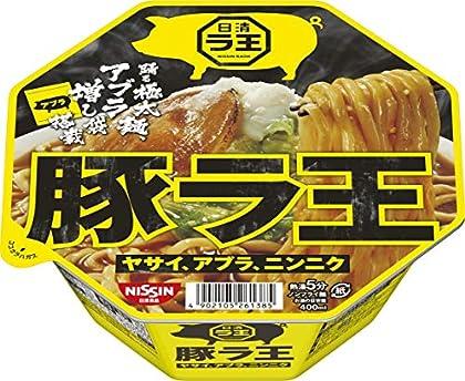 日清食品 豚ラ王 ヤサイ、アブラ、ニンニク 139gx12個
