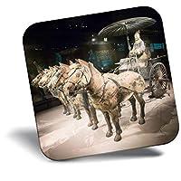 恐ろしい冷蔵庫マグネット - 兵馬俑中国馬クールなギフト#2207