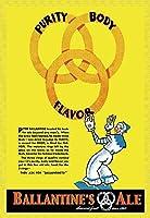 Buyenlarge 0-587-16468-9-P1218 Ballantine's Ale Purity Body Flavor Paper Poster 12 x 18 [並行輸入品]