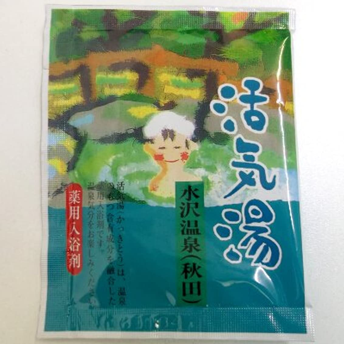 餌逃れるニックネーム活気湯 水沢温泉(青リンゴ)