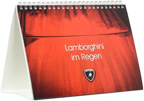 Lamborghini im Regen (Tischkalender 2017 DIN A5 quer): Abstrakte Ansichten klassischer Lamboghini Supersportwagen im Regen (Monatskalender, 14 Seiten )