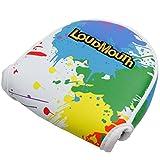 LOUDMOUTH(ラウドマウス) LM-HC0001/MT パターカバー マレット 用 001 ドロップクロス  LM-HC0001/MT  カラー:001 Drop Cloth (ドロップクロス) 品番:LM-HC0001/MT