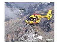 Airbus H145 poster エアバス ヘリコプター ポスター