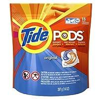Tide PODS Original Scent HE Turbo Laundry Detergent Pacs 16-load Bag (Pack of 2) [並行輸入品]