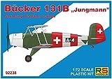 RSモデル 1/72 ドイツ空軍 ビュッカー Bu-131B 練習機 プラモデル 92238