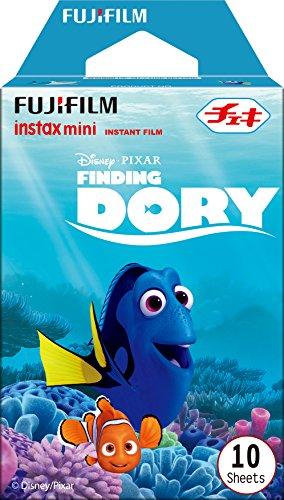 FUJIFILM インスタントカメラ チェキ用フィルム 10枚入 絵柄 (ファインディングドリー) INSTAX MINI FINDING DORY TW 1の詳細を見る