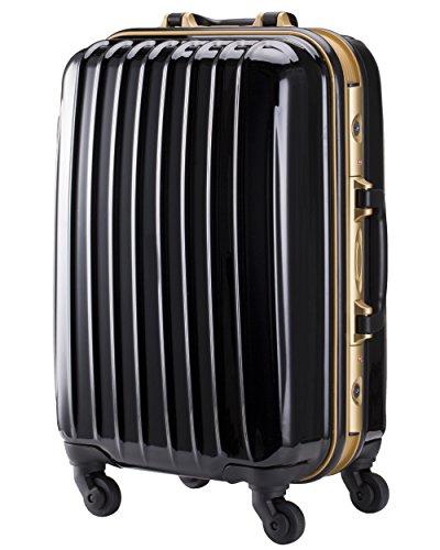 M型 ブラック/DL-1133 スーツケース キャリーバッグ TSAロック搭載