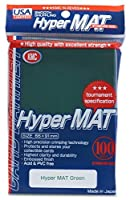 KMC Hyper Matte Green 100-count Standard Size Sleeves Pack [USA packaging] [並行輸入品]