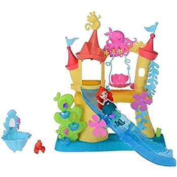 Amazon ディズニープリンセス リトルキングダム アリエルの海のお城