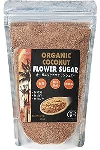 有機JASオーガニック ココナッツシュガー(Organic coconuts suger) 350g 1袋