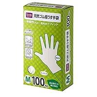 天然ゴム 極薄 手袋 H17-LT001M M