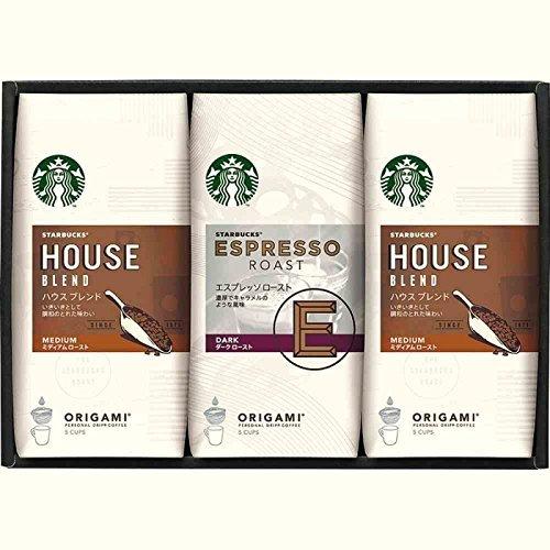 【コーヒーギフト】 スターバックス オリガミ パーソナルドリップコーヒーギフト SB-20E