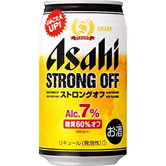 アサヒストロングオフ 缶 [ 350ml缶×24本 ]