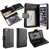 adidas 通販 OFTEN iPhone6plus 6s plus 5.5インチケース  耐衝撃 防塵フル 手帳型 財布型 ポケット、カード機能付きレザーケース