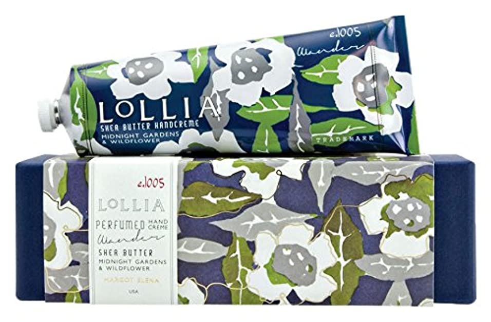 哺乳類促す調和ロリア(LoLLIA) ラージハンドクリーム Wander 113g (ナイトブルーミングジャスミンとサイプレスの香り)