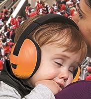 KidCo WhispEars子供用聴覚保護具、オレンジ
