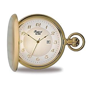 [ラポート]RAPPORT 懐中時計 ハンターケース クォーツ デイト PW70 【正規輸入品】