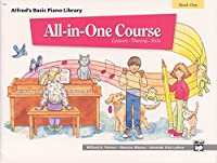 Alfred's Basic All-In-One Course For Children - Book 1 (Alfred's Basic Piano Library)