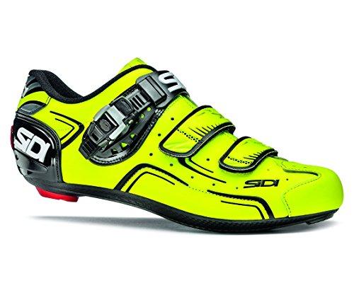 SIDI(シディ) Level Road Cycling Shoes - Yellow Fluo/Black [Size: 36~46 EUR] (41 EUR [25.5cm]) [並行...
