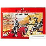 Faber-Castell PL180688D1 20-Pieces Drawing Block A4 Size 165GMS,White,A4 Size, 165Gms, 20-Pieces