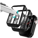Alinsea【2枚入り】Apple 用 Watch ケース 42mm フィルム 【液晶全面保護】【防水カバー】 アップ…