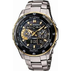 CASIO (カシオ) 腕時計 OCEANUS オシアナス TOUGH MVT タフムーブメント タフソーラー 電波時計 MULTIBAND6 OCW-T400TG-1AJF メンズ