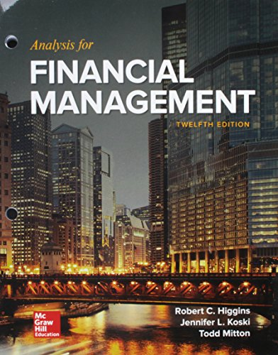 Download GEN COMBO LL ANALYSIS FOR FINANCIAL MANAGEMENT; CONNECT ACCESS CARD 1260260828