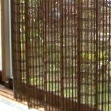 モダン竹カーテン [100×175cm] ダークブラウン (SD-044-DB)