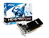 MSI Gaming 6G 内耳型 インイヤー型 ブラック 2GB R6450-2GD3H/LP
