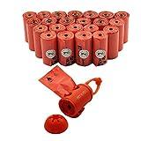 ペット エヌ ペット (PET N PET)犬 うんち袋 うんち処理袋 イレ袋 ディスペンサー付き ゴミ袋 オレンジ 23ロール(414枚入り) 33×23cm