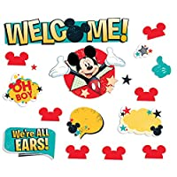 Eureka Mickey, Welcome Mini Bulletin Board Set (847250) by Eureka