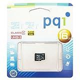PQI microSDXCメモリカード (16GB, microSDHCカード - UHS-I / Class10 / フルHD )