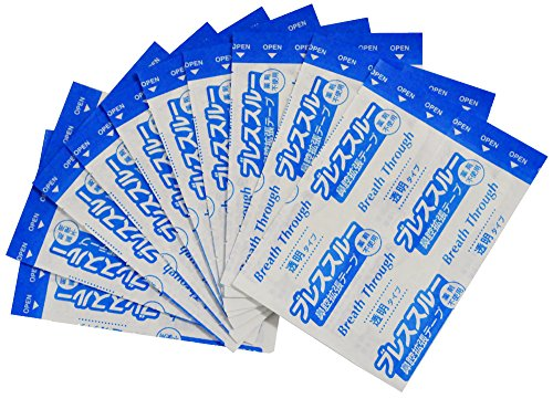 鼻づまり いびき 解消 ブレススルー 透明 20枚入 ラージ サイズ KH-045