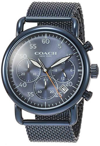 [コーチ]COACH 腕時計 デランシークロノグラフ ブルー文字盤 クォーツ 14602374 メンズ 【並行輸入品】
