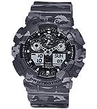 [カシオ]CASIO 腕時計 G-SHOCK カモフラージュシリーズ GA-100CM-8A メンズ [並行輸入品]