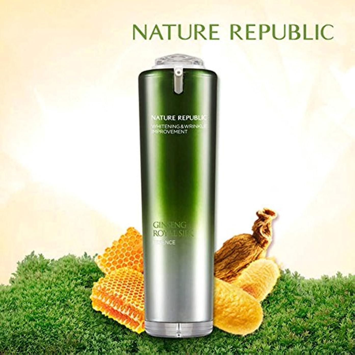 達成するピクニックをする脅迫NATURE REPUBLIC/人参ロイヤルシルクウォーターリーエッセンスNature Republic、Ginseng Royal silk Watery Essence 40ml(海外直送品)