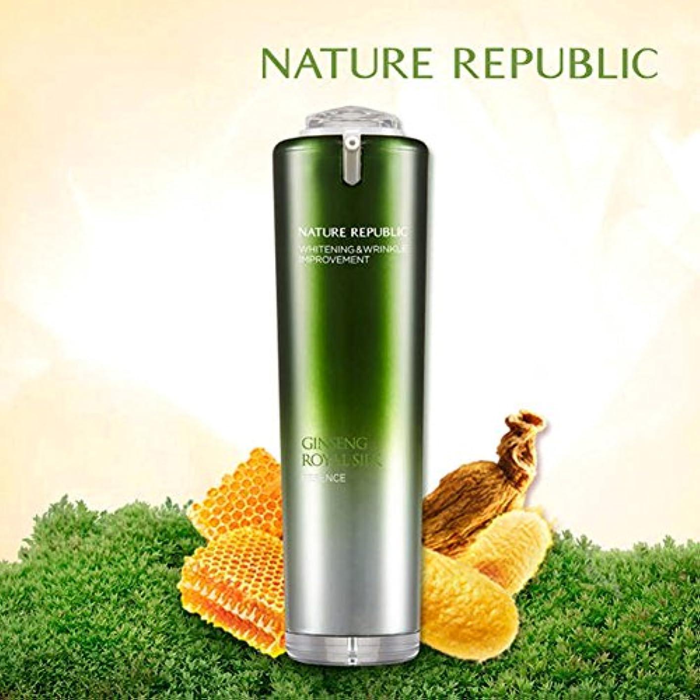 原始的なミンチ昼間NATURE REPUBLIC/人参ロイヤルシルクウォーターリーエッセンスNature Republic、Ginseng Royal silk Watery Essence 40ml(海外直送品)