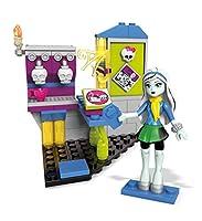 Mega Construx Monster High Fright Roast Cafe Building Set with Frankie Stein Figure